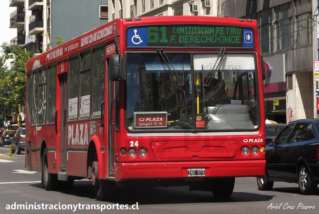 Buenos Aires 61   Plaza   Tatsa Puma D12 / IND979