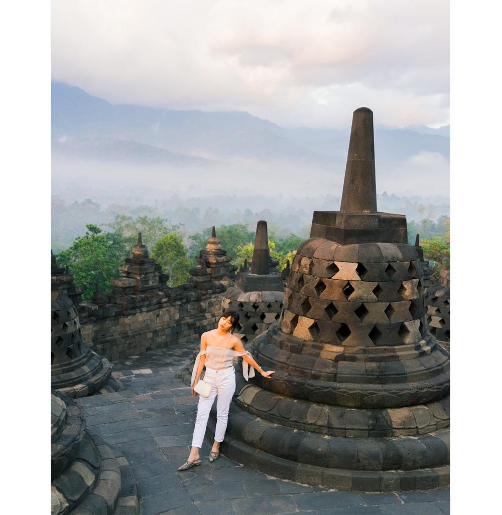sunrise borobudur temple yogyakarta