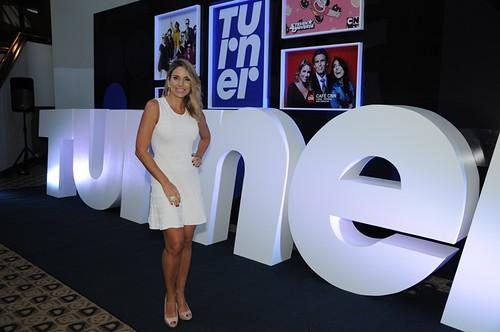 Mariale Requena, uno de los talentos del canal y ancla de Café CNN, vino a Caracas especialmente para esta presentación.