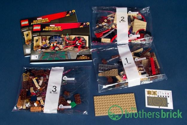 Lego Marvel Superheroes 76060 Doctor Stranges Sanctum Sanctorum