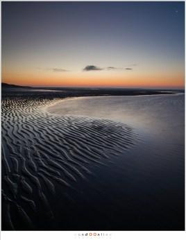 lijnenspel van het strand