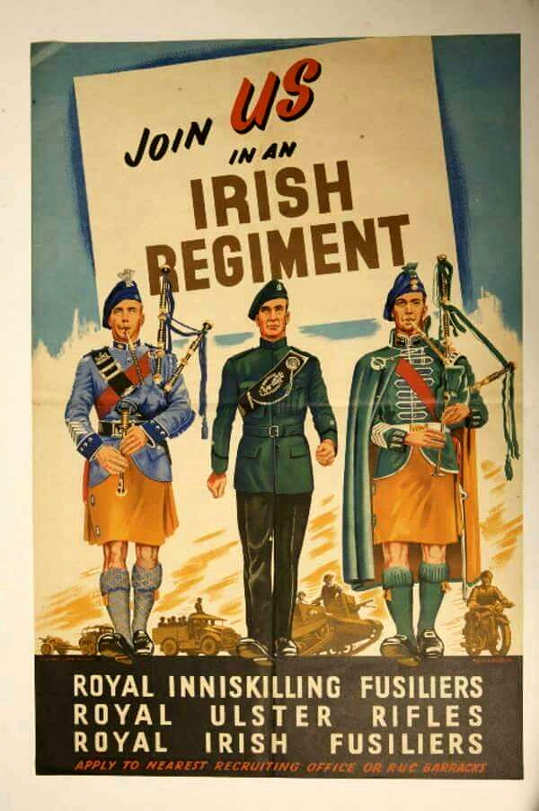 Royal Irish Join Us In An Irish Regiment Join The Nor