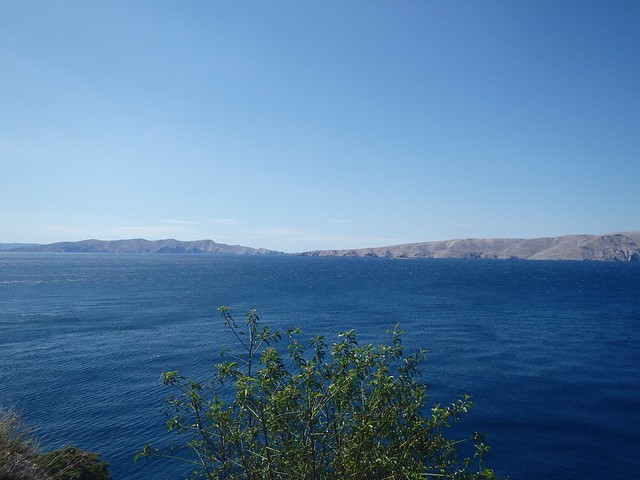 Panorama delle coste croate