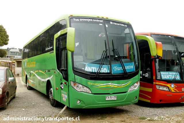 Transantin | Pichilemu | Mascarello Roma 350 - Mercedes Benz / FXRS25