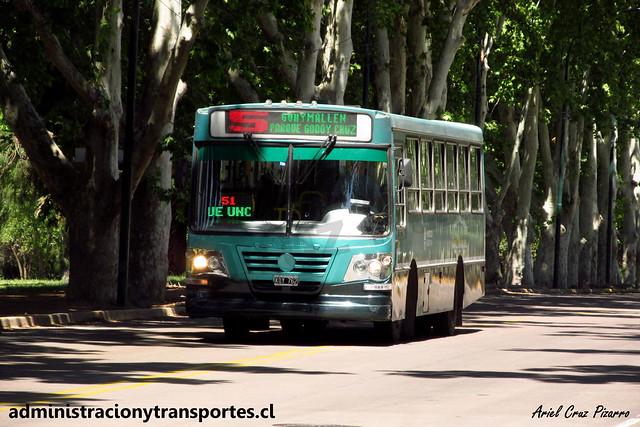 Transporte General Roca (Mendoza) | La Favorita - Mercedes Benz / KQY762