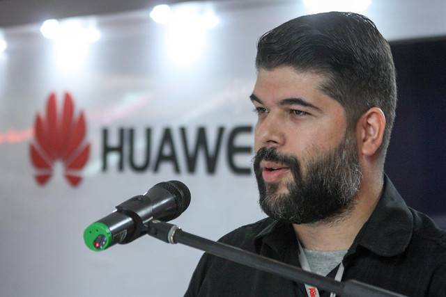 Jorge Bolívar de Huawei Venezuela