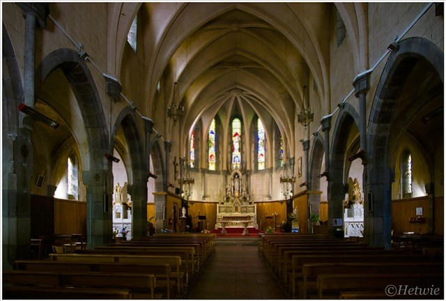 Eglise Sacre Coeur in Castelane, Frankrijk