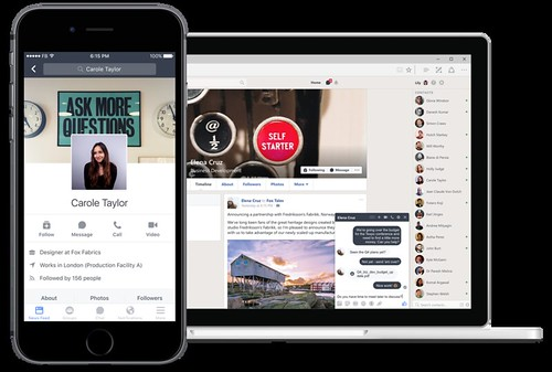 Facebook Work Place fue pensado originalmente en empresas, pero su utilidad llega al sistema educativo.