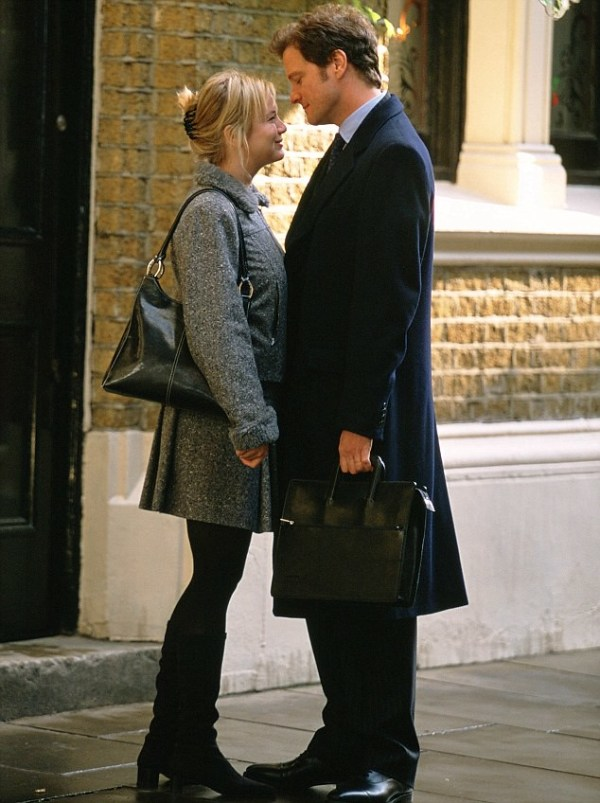 Remember Renee Zellweger and Colin Firth in Bridget Jones: The Edge Of Reason? (Photo credit: www.dailymail.co.uk)