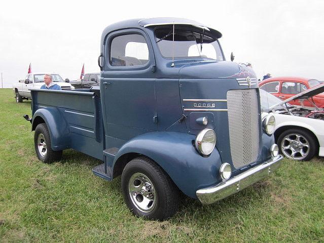 1955 Trucks Old Cabover Ford