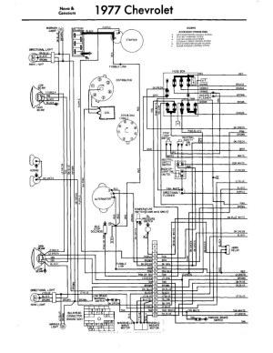 Chevy Nova 1977 | Diagrama Electrico Parte 1 | 76NOVASS