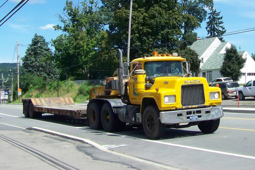 Penndot Mack R Model Lowboy Tractor