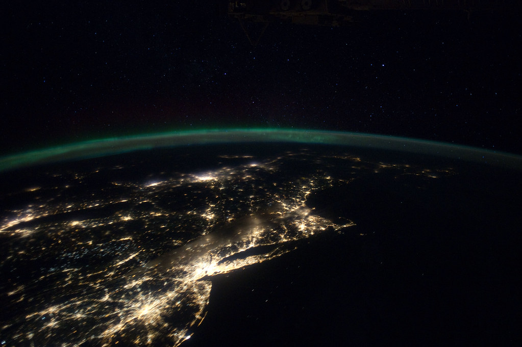 Northern Lights Satellite