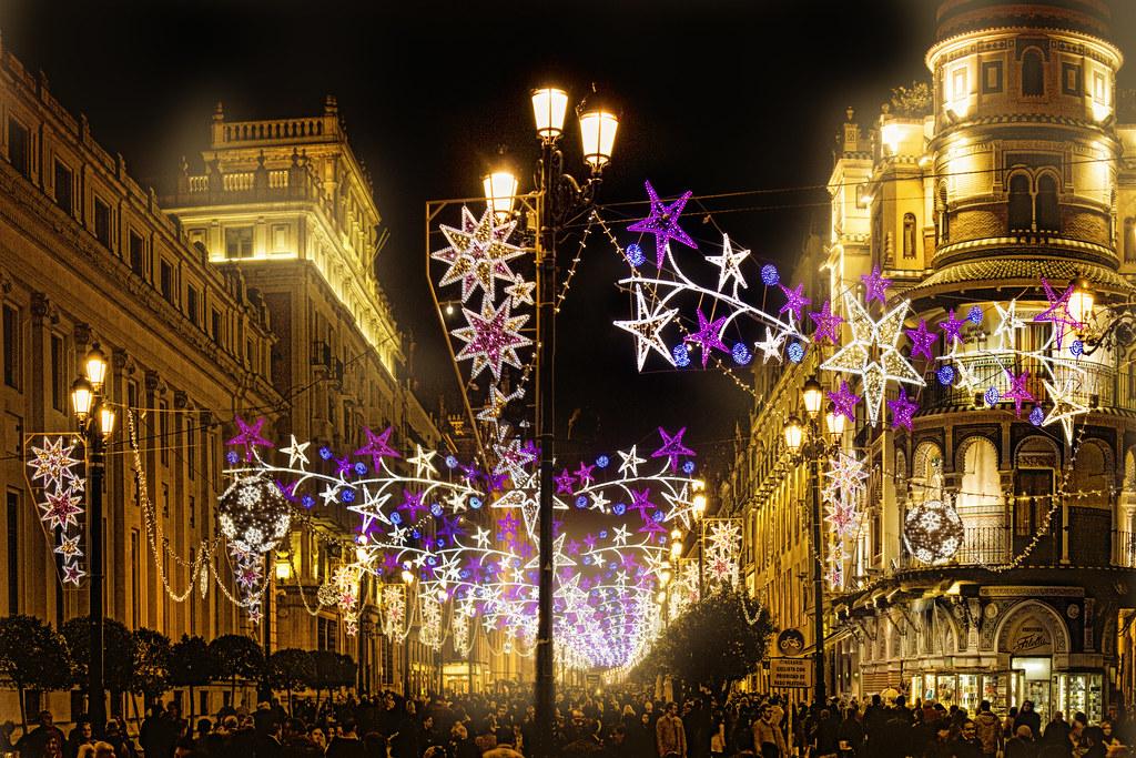 Feliz Navidad Desde Sevilla Ao 2012 Avenida De La