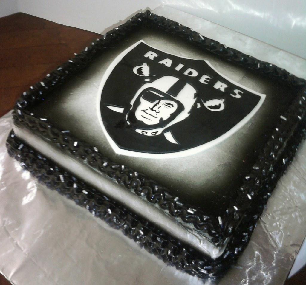 Raiders Bday Cake