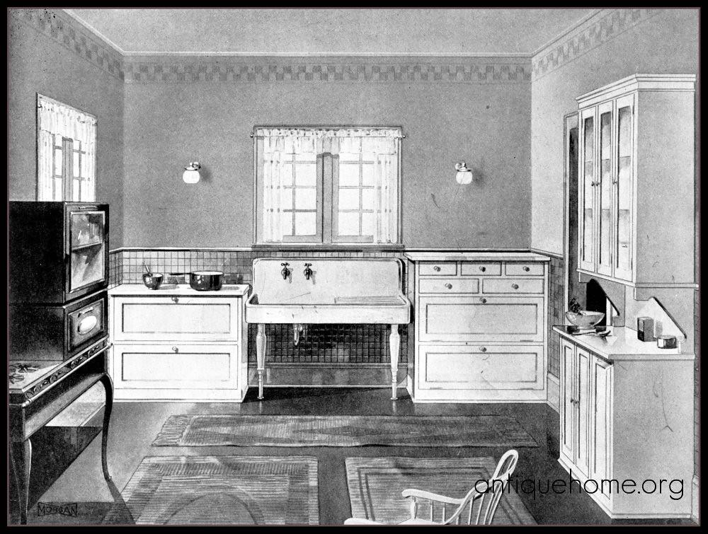 Farmhouse Kitchen 1920