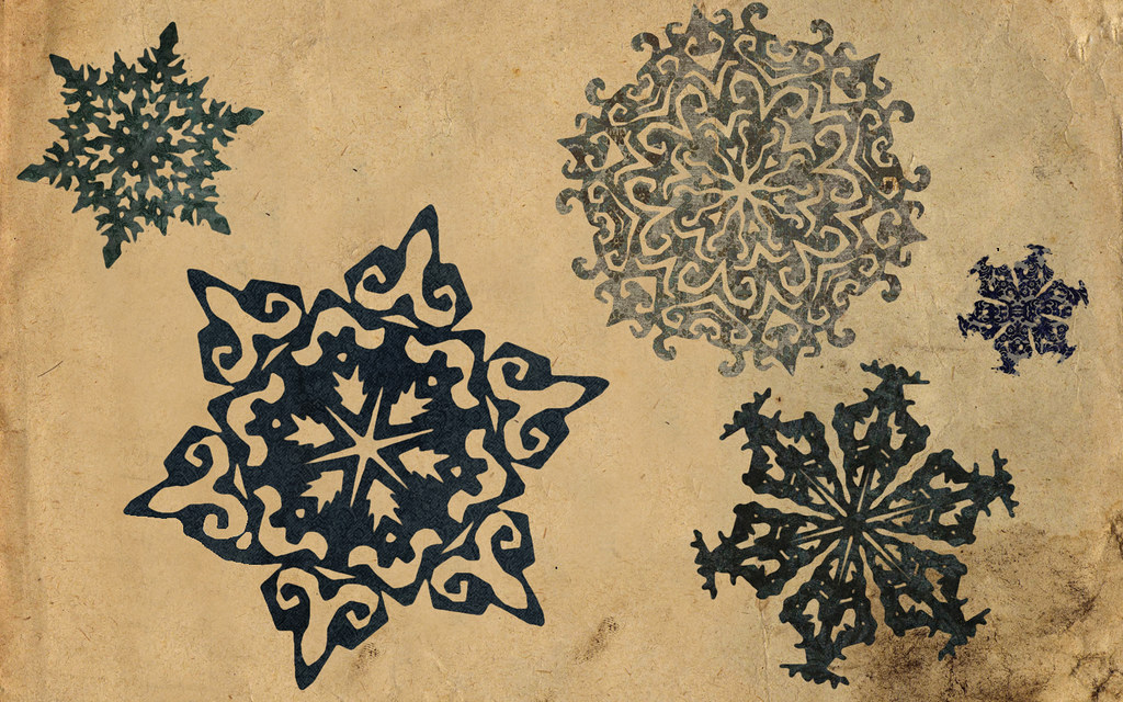 Vintage Snowflakes Vintage Snowflakes Make With
