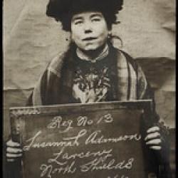Susannah Adamson, arrested for stealing a man's purse