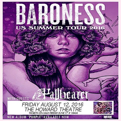 Baroness at the Howard Theatre