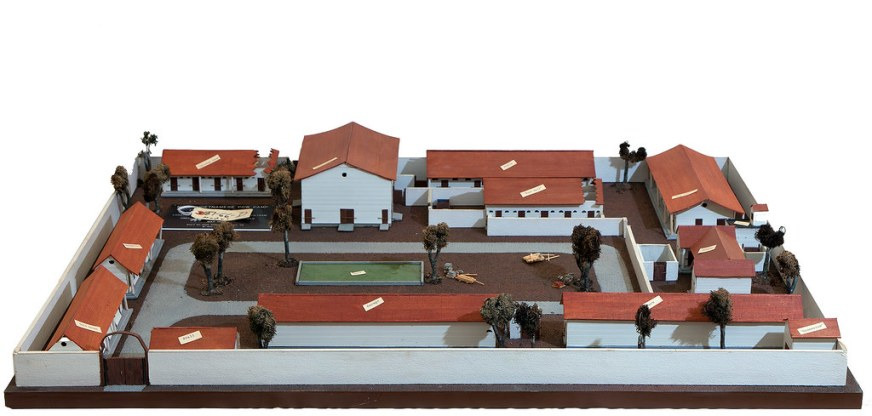 North Vietnamese Prison Camp Model | This model of the ...