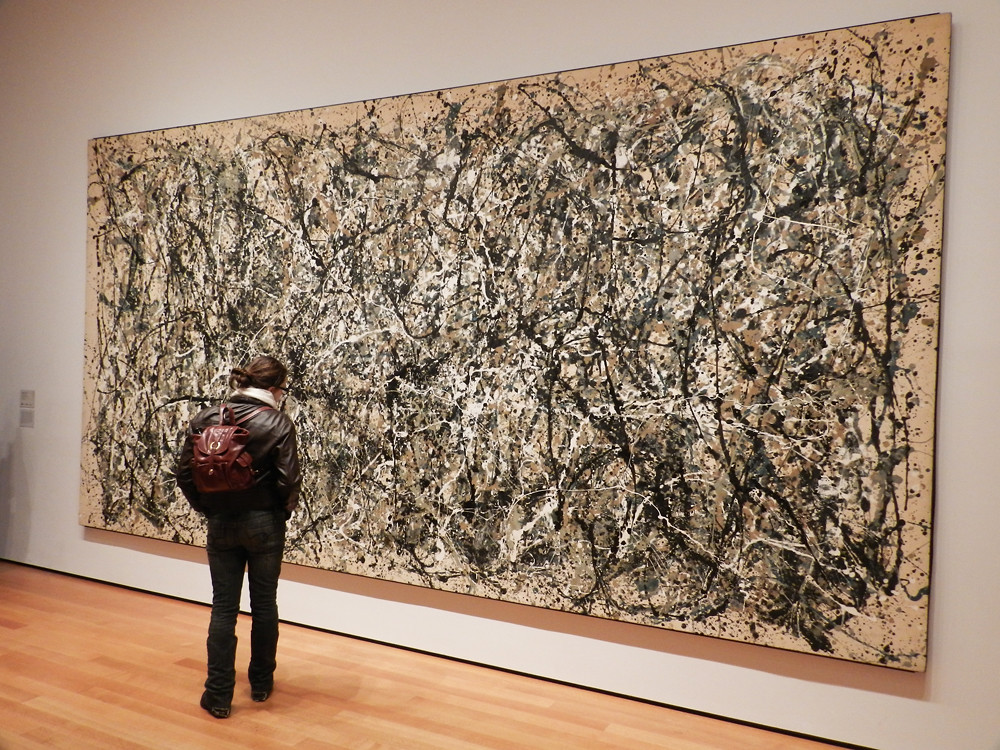 One Number 31 By Jackson Pollock