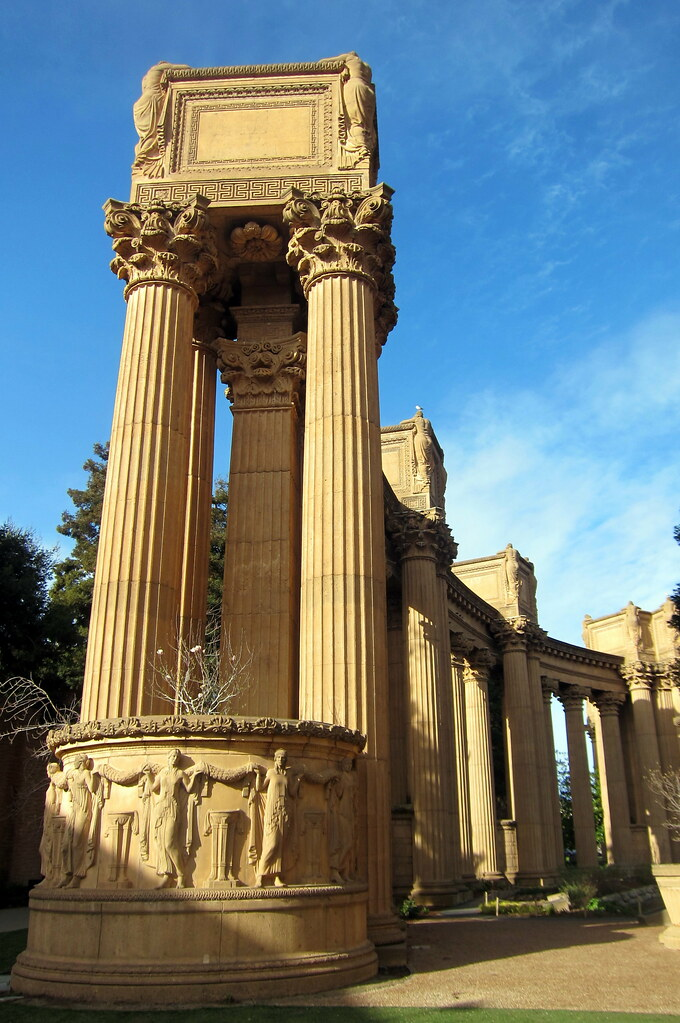 San Francisco Marina District Palace Of Fine Arts Flickr