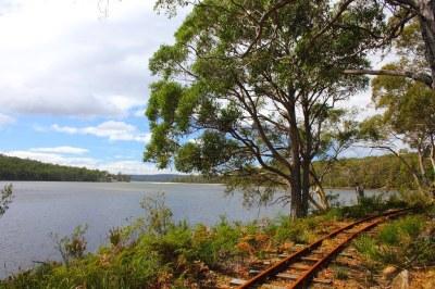 Tasmanian Bush Railway - Ida Bay | This Tasmanian Bush ...