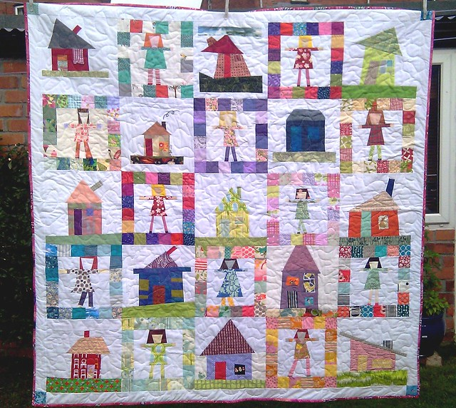 Bee Blessed Pippi Longstocking Quilt June12