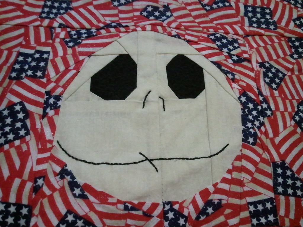 4th Of July My Nightmare Before Christmas BOM There