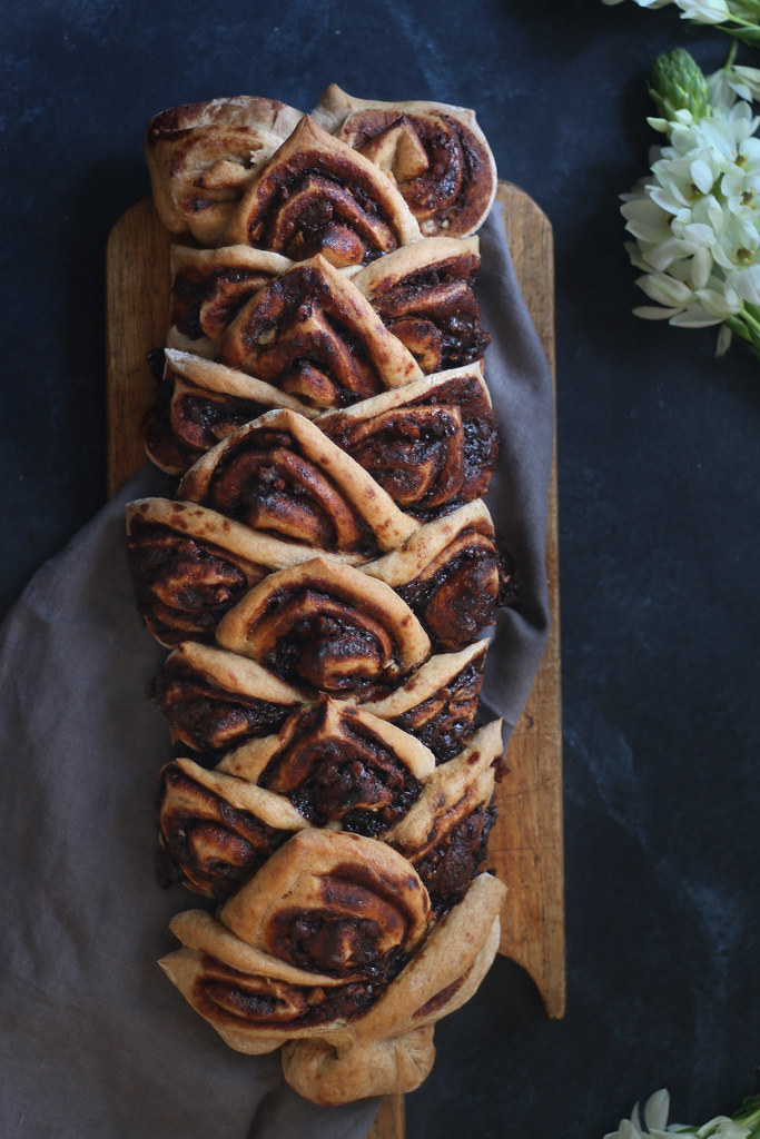 WALNUT MOCHA BREAD with Cardamom |foodfashionparty| #easyrecipe #bread