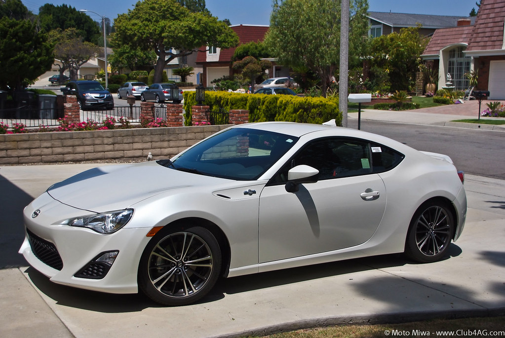 Scion FRS W Five Axis Design Rear Spoiler Beatsonic Roo