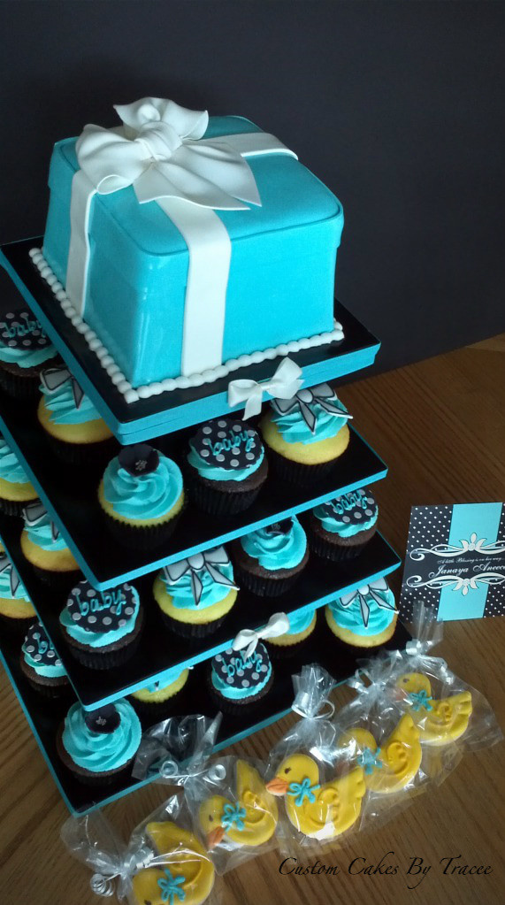 Baby Boy Cupcake Cake