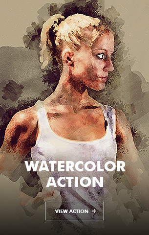 Watercolor V.5 Photoshop Action - 84