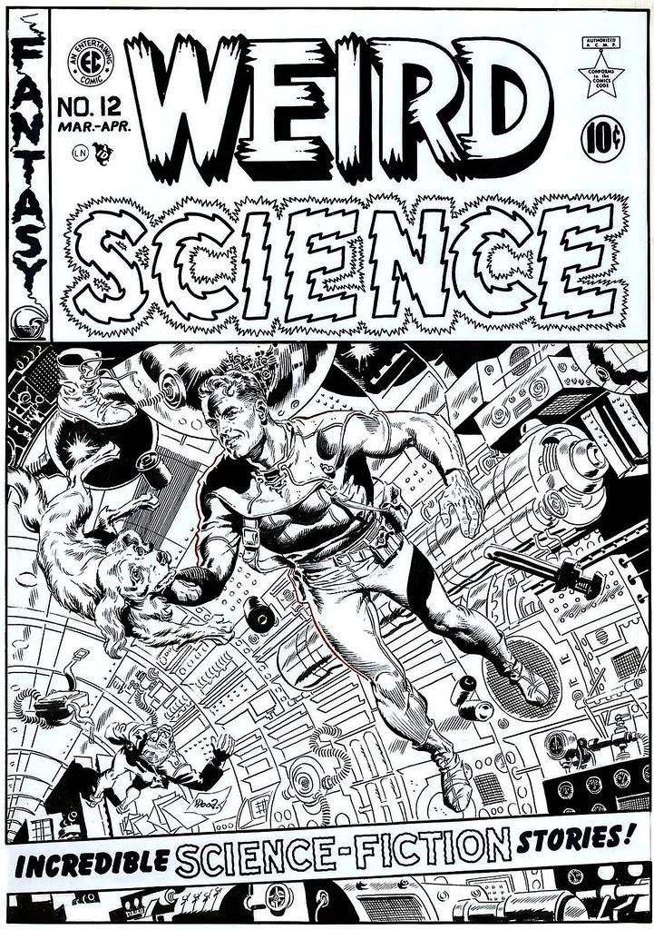 WALLY WOOD WALLY WOOD Weird Science 12 Wally Wood