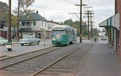 Riverdale Park Trolley 1950's | Flickr - Photo Sharing!