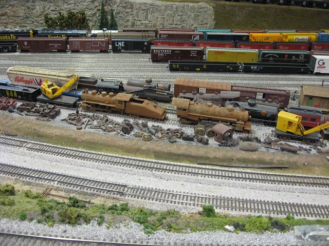 Medina Railroad Museum HO Scale Model Train Layout 4