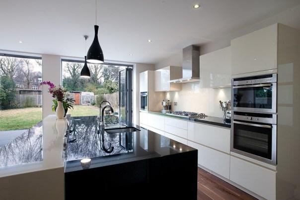 Image result for Kitchen Extension - Black Marble Top flickr