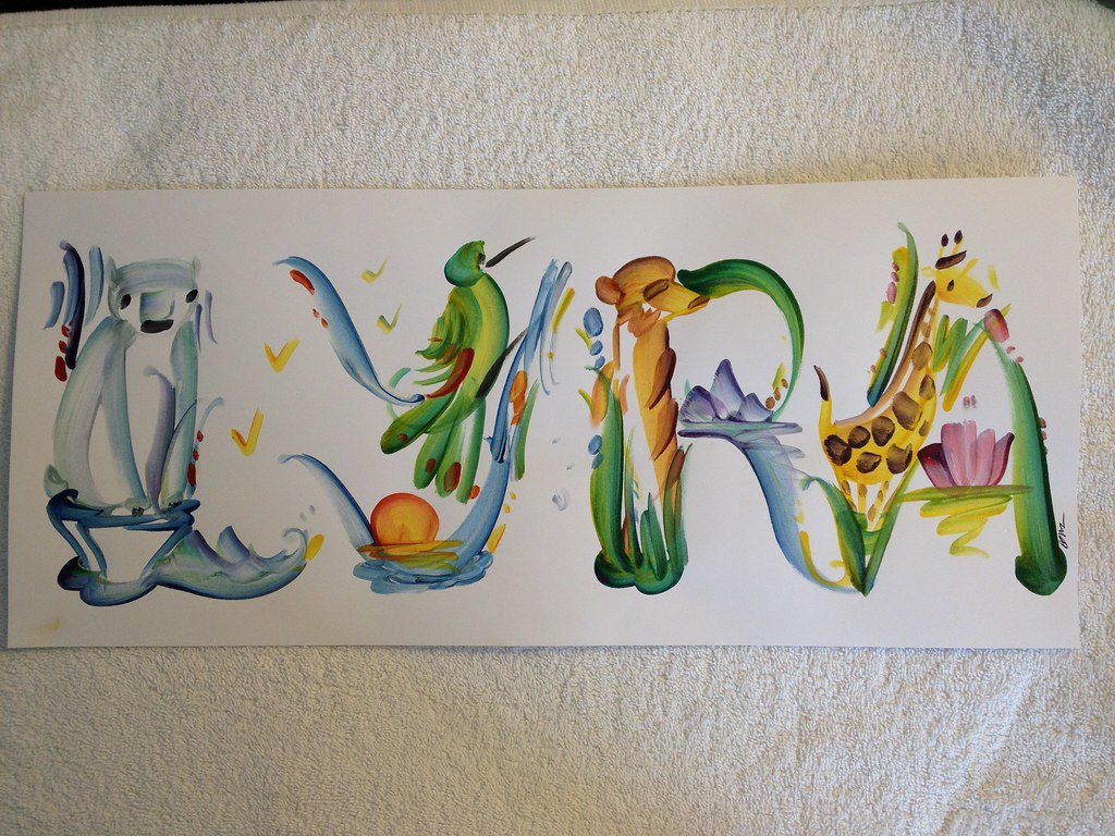 Cool Name Art From The Zoo Thadd Selden Flickr