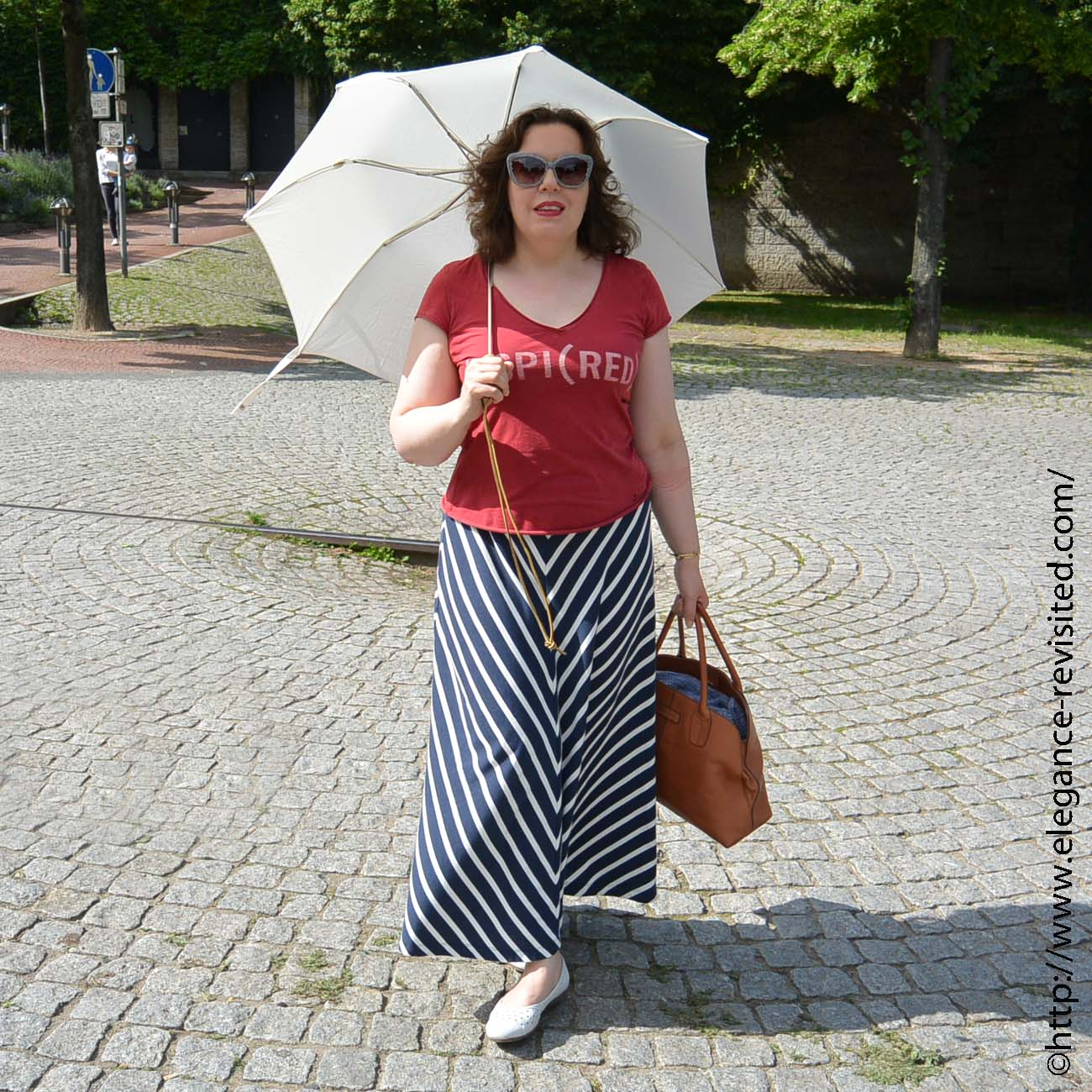 styling a maxi skirt