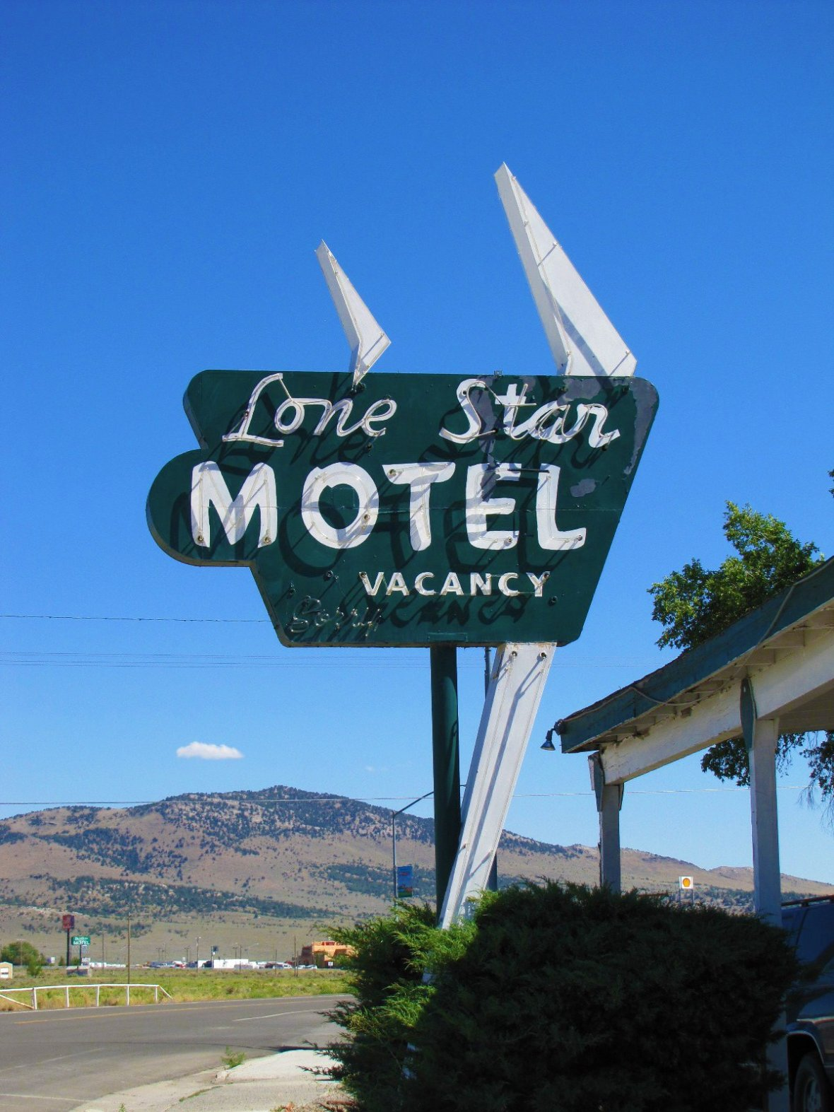 Lone Star Motel - 676 6th Street, Wells, Nevada U.S.A. - August 3, 2010