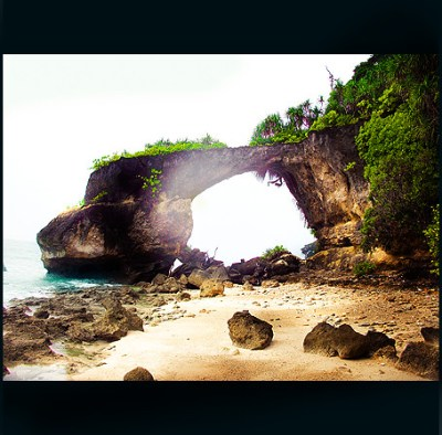 Natural Coral Bridge at Neil Island , Andaman & Nicobar Is ...