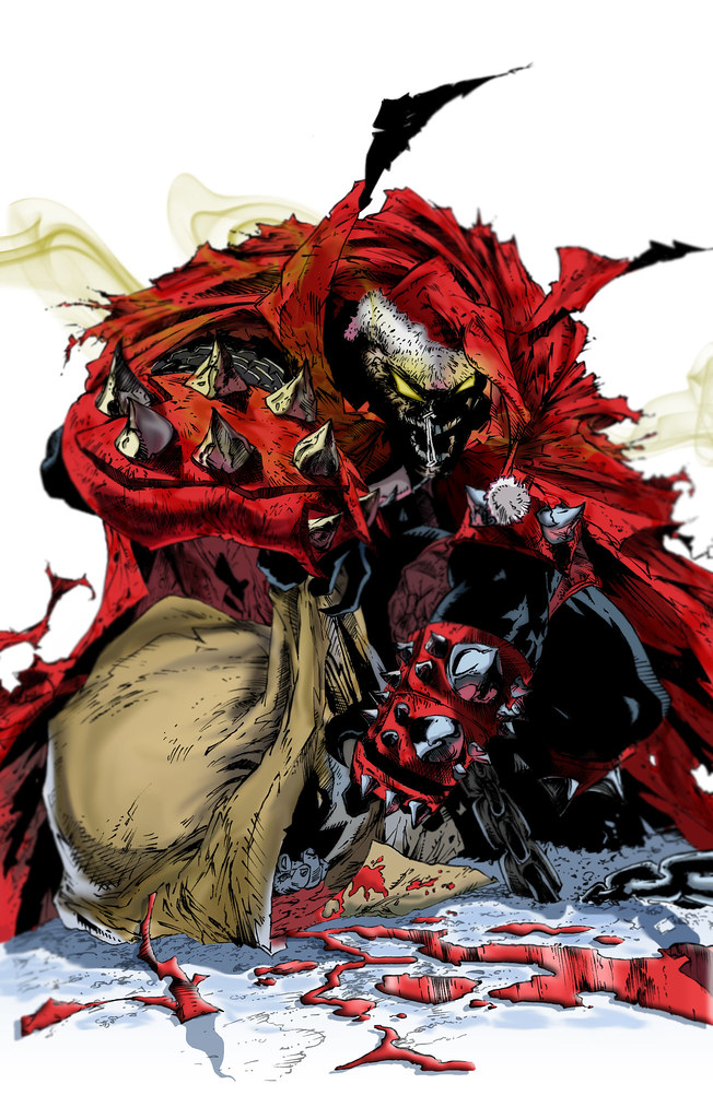 Christmas Spawn An Illustration I Did During My Break