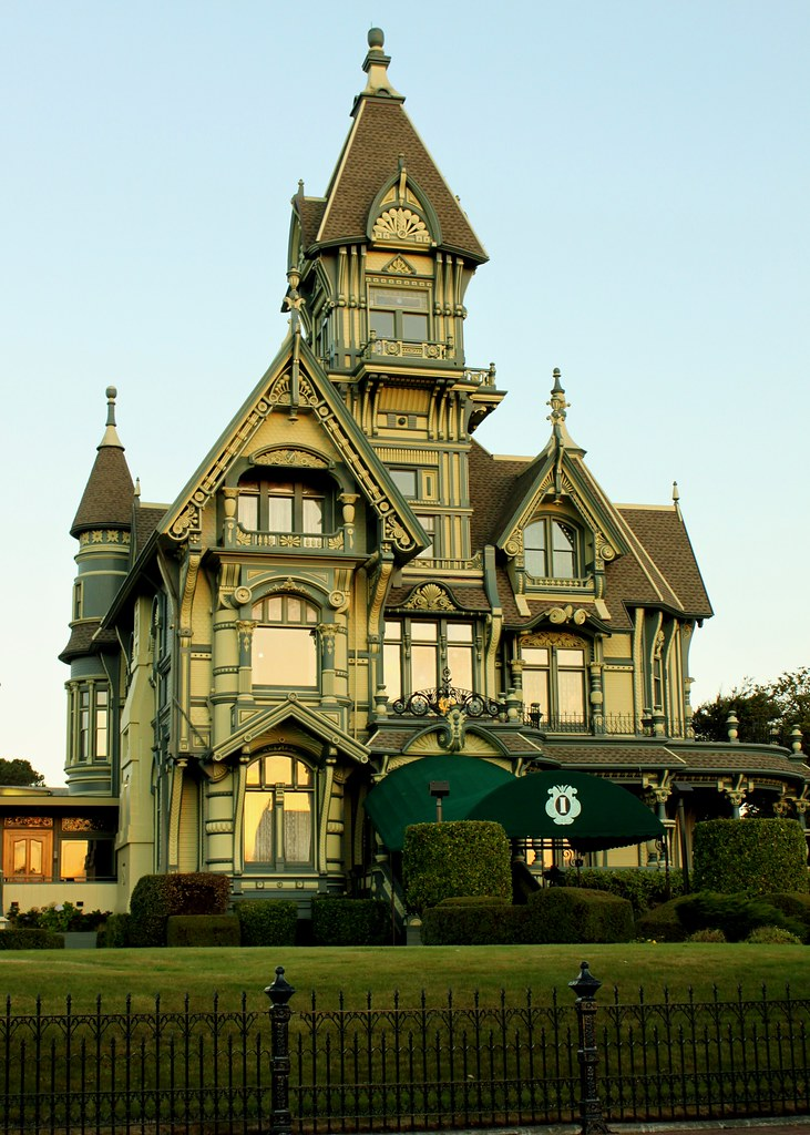Carson Mansion The Old Town Eureka Humboldt County