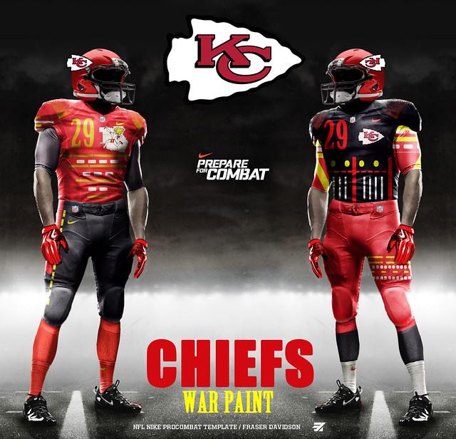 Kc Chiefs Nike Nfl Uniform