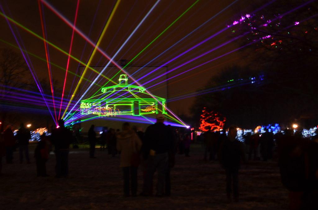 Brookfield Zoo Winter Lights