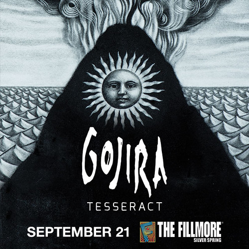 Gojira at Fillmore Silver Spring