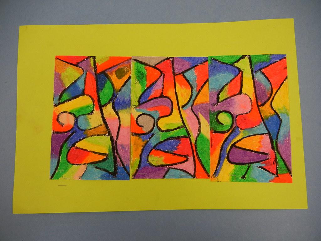 Klee Inspired String Prints