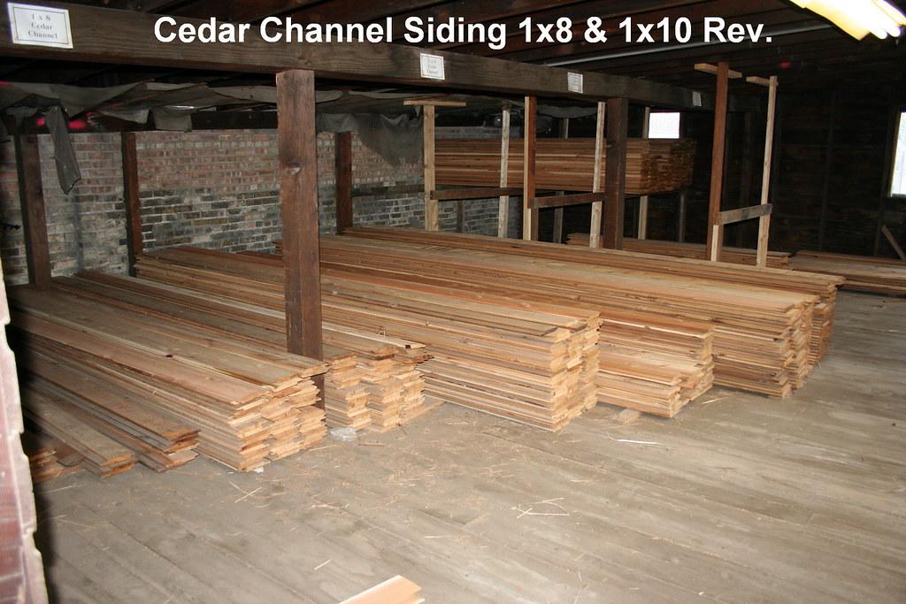 Cedar Siding 1x10 Channel