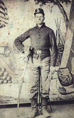 Union soldier James Bolton Rice