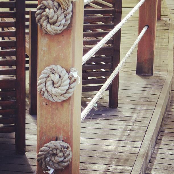 Nautical Deck Railing Ideas